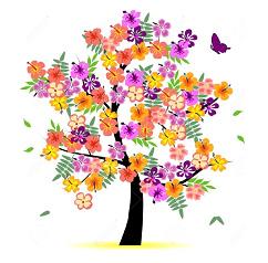 albero fiorito